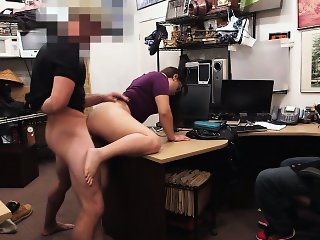 Pawnshop owner gets horny