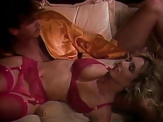 Victoria Paris in pink lingerie