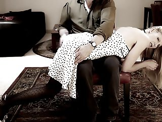 Beautiful Spanking