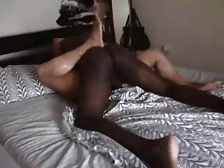 Wifey loves her black lover's big dick!