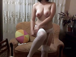 Russian gerl masturbated on web cam 08