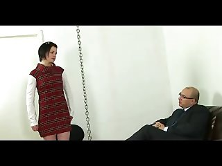 girl punished and humiliated