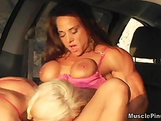 Melissa Dettwiller and Roxie Rain - FBB