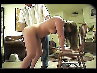 Homemade spanking