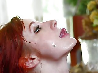 Violet Monroe does Deepthroat
