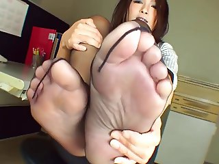 Asian nylon feet