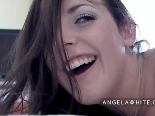 Angela White - POV Huge Facial