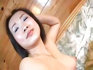 Young Asian Girl with cute Feet gets her Hole filled