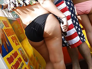 Candid Booty 160