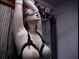 Bondage and perversion slave by lesbo babes