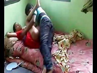 Desi guy fucking prostitue in his home