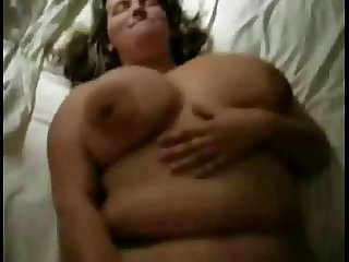 My Fat BBW Ex GF loved sucking and riding cock all the time