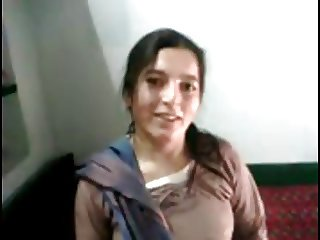 Cute Real Pakistani Pathan Exposes Her Body