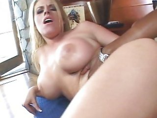 Daphne Rosen riding black dick