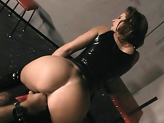 BDSM hottie banged hard