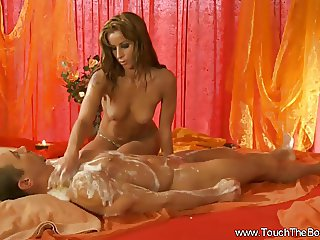 Golden Massage With Handjob