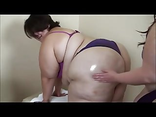 BBW Giant ass massage