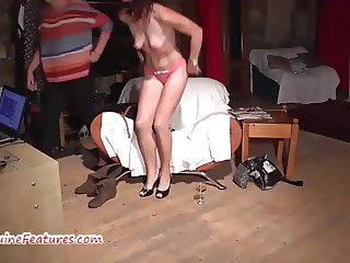 Very first casting for sexy czech wife