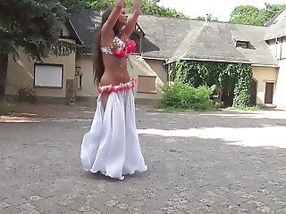 Beautiful Busty Belly Dancer Isabella part 2