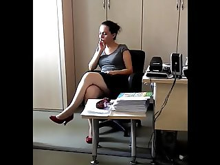 Risky Recording - Office Milf