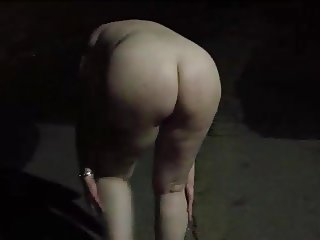 stripping in the street