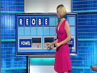 Rachel Riley - Lovely Big Tits Pink Dress