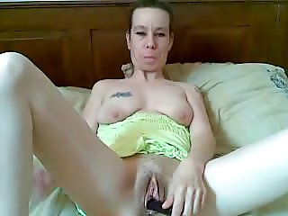 Wet and hot pussy enjoy the toy