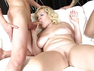 Hottest mature moms and MILFs suck and fuck young boys