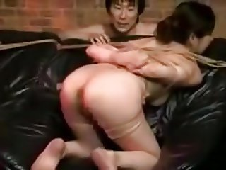 Whipping 2 Japanese MILFs