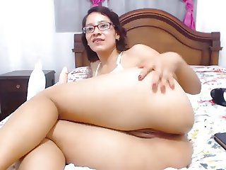 Colombian nerd expert in ass to mouth