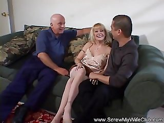 Blonde Wife Never Tired of Fucking