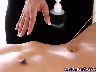 Bound lesbian gets rubbed