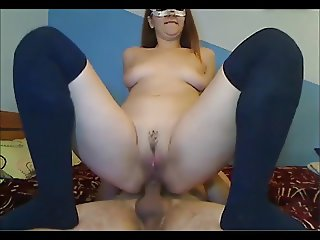 Masked Anal Lovers Creampie