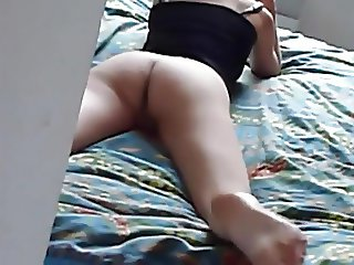she was so happy after the nice fuck of her first BBC