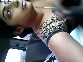 CUM IN CAR - INDIAN GIRL FRIEND