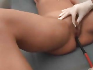 Dr.Randy Alexis, an Enema and Pussy Play