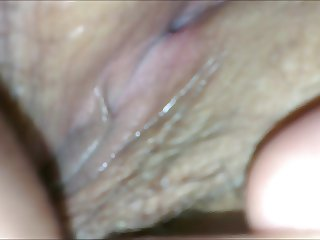 Sneaky close-up peek of wifes pussy
