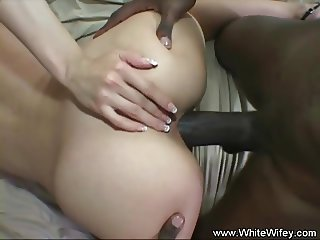 Interracial Anal For Cheating MILF