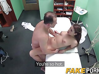 Doctor treats his patient with his cock and slams her pussy