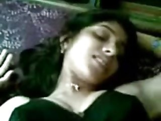 Submissive desi teen girl blows a dick