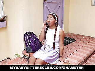 MyBabySittersClub - Young Babysitter Fucked or Fired