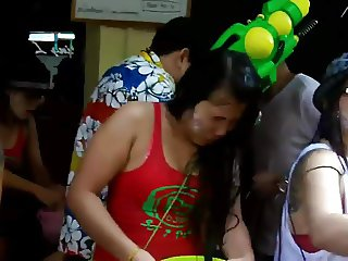 Pattaya - Songkran 2016 at PJ DJBar