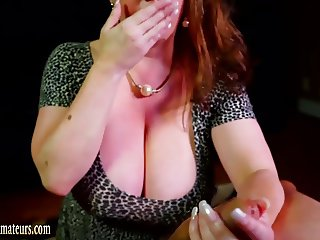 Busty amateur MILF ass fucked in a casting audition