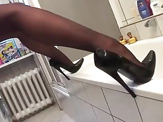 stocking and high heel 1