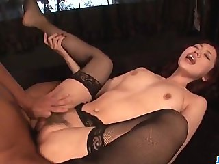 Gangbang action for cock sucking milf, Ann Ya