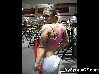 Fitness Hotties and Muscled GFs!