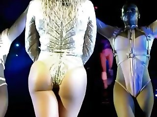 Beyonce camel-toe ass shaking