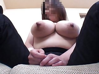 Wife's huge lactating boobs 4 - Breastfeeding two big man