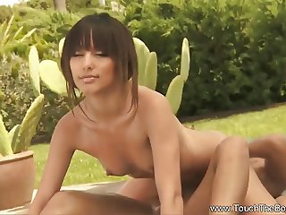 Oily Massage Fun for Girlfriends