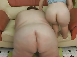 Lucky Guy Fucks the SSBBW and The MIDG3T